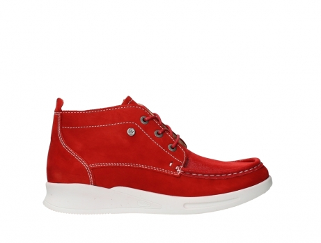 wolky lace up boots 05906 six 10570 red stretch nubuck_1