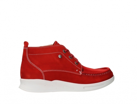 wolky lace up boots 05906 six 10570 red stretch nubuck_24