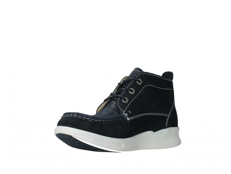 wolky lace up boots 05906 six 10870 blue nubuck_10