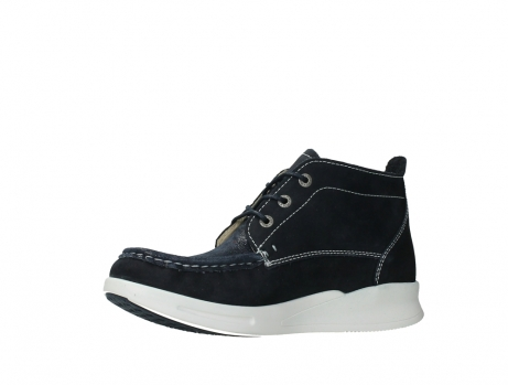 wolky lace up boots 05906 six 10870 blue nubuck_11