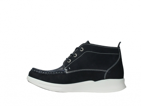 wolky lace up boots 05906 six 10870 blue nubuck_13