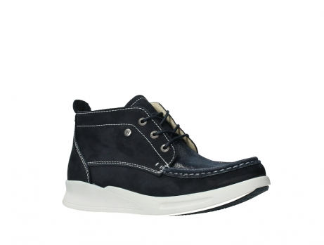 wolky lace up boots 05906 six 10870 blue nubuck_3