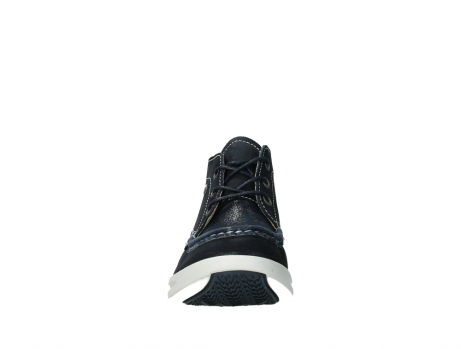 wolky lace up boots 05906 six 10870 blue nubuck_7